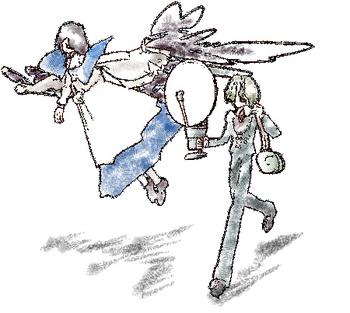 空飛ぶリンナミーシャと遍歴のカーロ